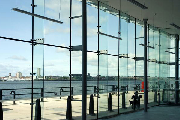 Glass Glazing Mullion : Spider glazing